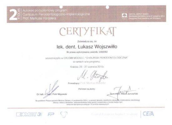 certyfikat Doktora 9 001